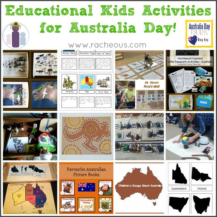 G'day and welcome to the next stop in the Australia Day Blog Hop! I'm sharing some educational kids activities for Australia Day – what better day to learn all about Australia and what makes us Australian?! Learning Australia's States & Territories: We used an inexpensive puzzle of Australia with the great free States of Australia …