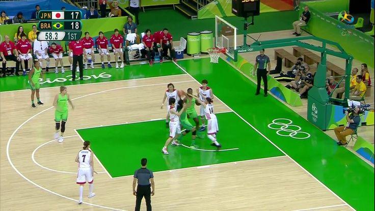 Rio-2016: Brasil perde para o Japão a segunda no basquete feminino