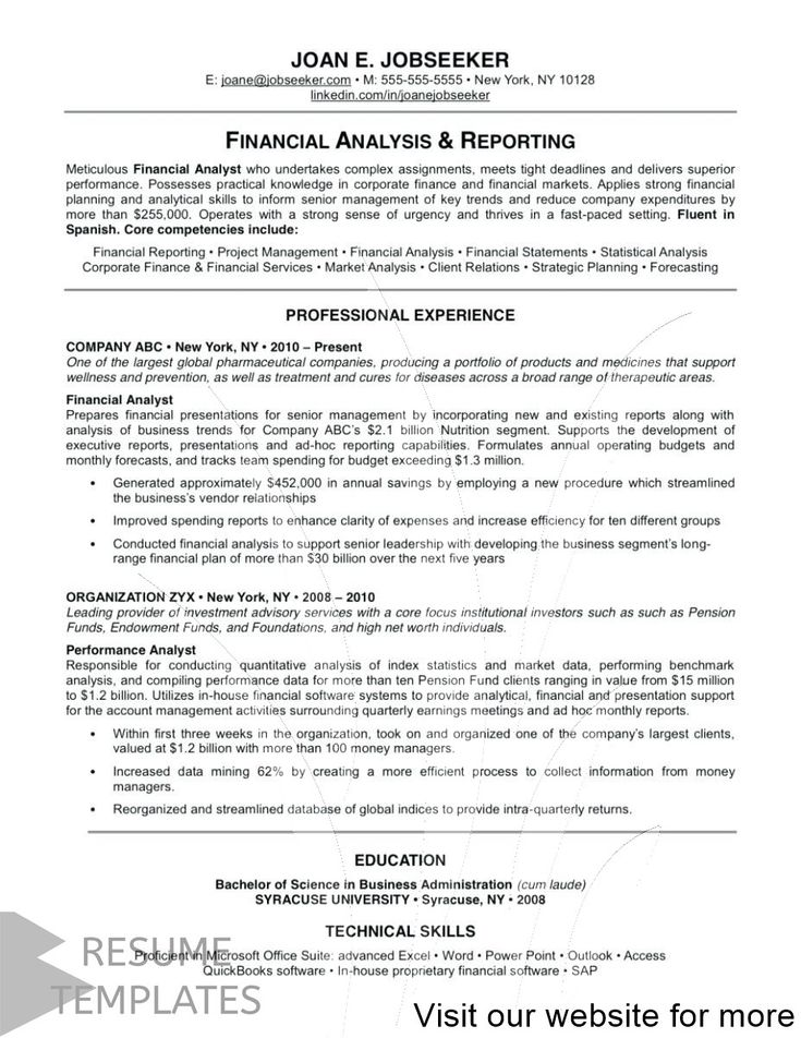 teacher resume template free in 2020 Good resume