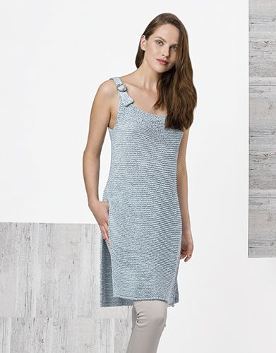 Book Woman Chic 93 Spring / Summer | 36: Woman Pinafore Dress | turquoise
