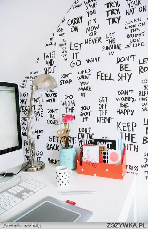 I want this for my office/study room, filled with quotes for inspiration