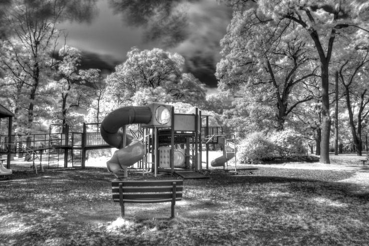 Canatara Park - HDR - IR