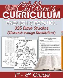 Calvary Curriculum, tons of FREE printable Bible Studies for kids.