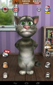 Talking Tom Cat 2 Free screenshot 1