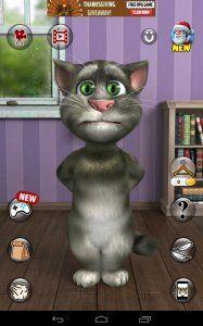Talking Tom Cat 2 Free screenshot 1