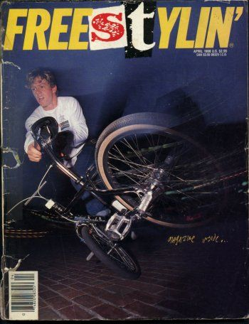 Freestylin' magazine - April '88 issue
