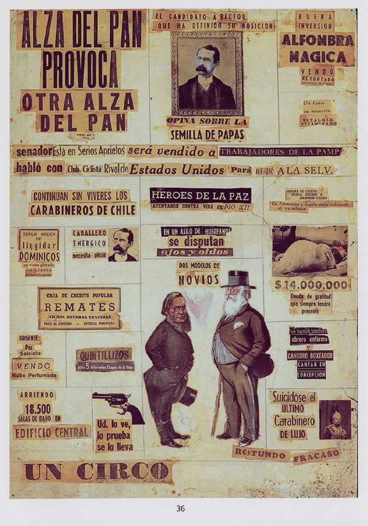 Nicanor Parra - Artefactos Visuales