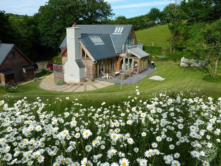 One and a Half Storey House Oak Framed Family Home in Talland Bay