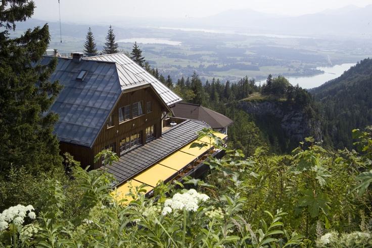 Burghotel Falkenstein - Hotel im Allgäu, Bayern overlooking Newschwanstein Castle