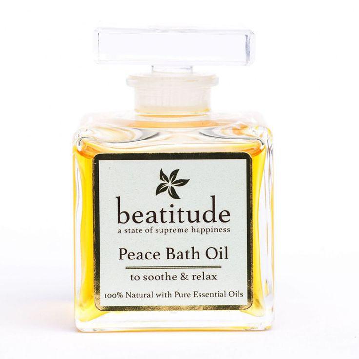 Beatitude - Peace Aromatherapy Bath Oil 50ml, £24