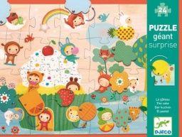 Mufin - puzzle s překvapením 59 x 42 cm Djeco - Hrackyodjinud