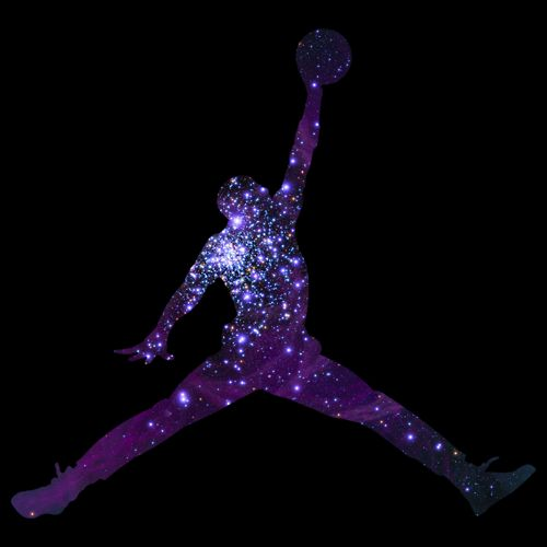 Michael Jordan Logo Purple Im interested in Jordans Basketball and The bulls is my favorite sports team. I chose galaxy because Im interested in learning about other galaxies and planets.