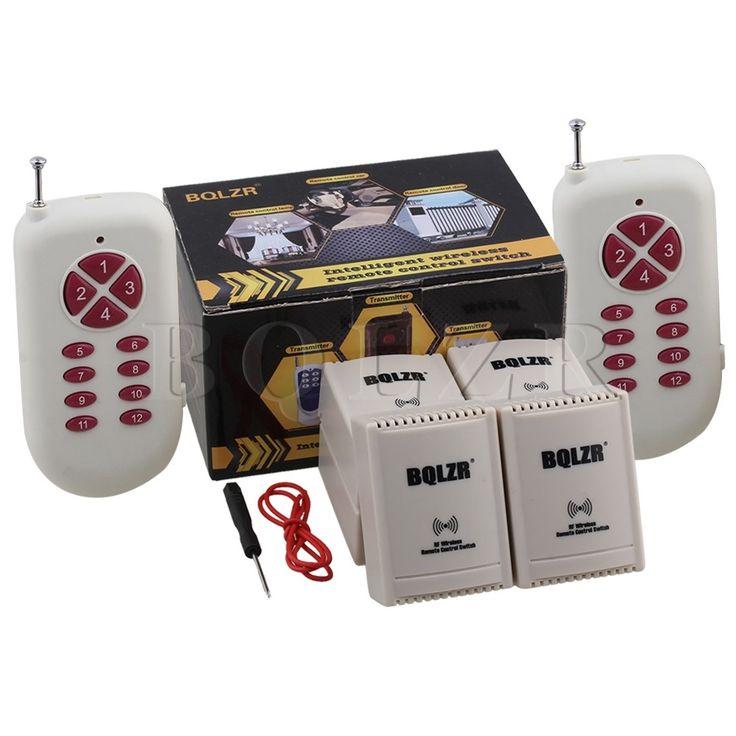52.31$  Buy here  - Self-locking 2CH BQLZR Remote Control 12V 433Mhz Electric Garage Door Window