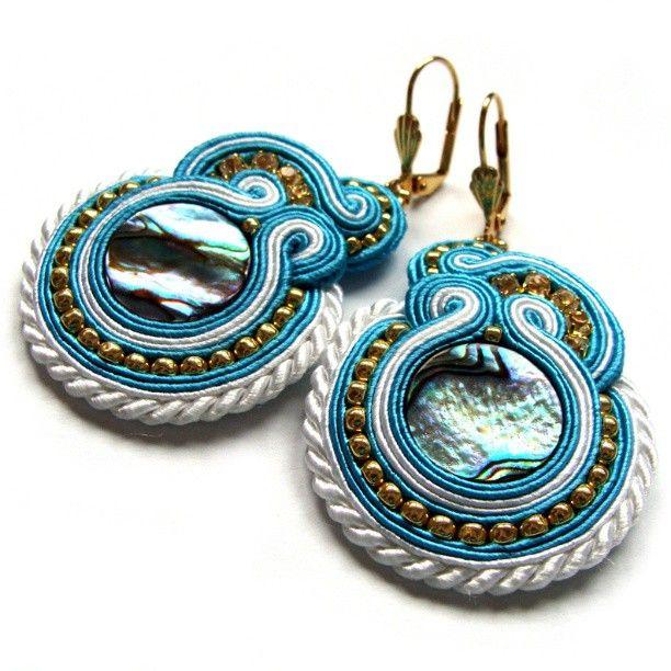 #earrings #soutache