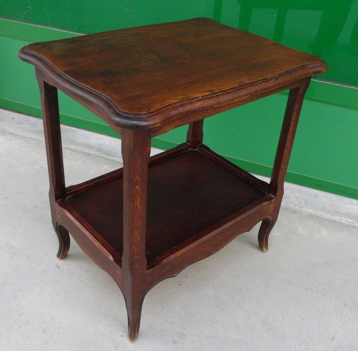 Tavolino da salotto provenzale in rovere massello primo '900