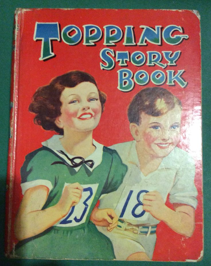 "Topping Story Book. Dean & Son Ltd. Inscription "" To Shirley with best love from Mother & Father. Xmas 1936"" (my mum)"