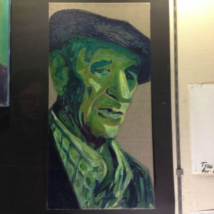 Mi aitatxito triste expuesto en Artes y Oficios