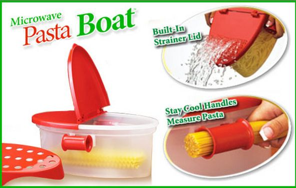 """The Pasta Boat   18 """"As Seen On TV"""" Products That Will Actually Change Your Life"""
