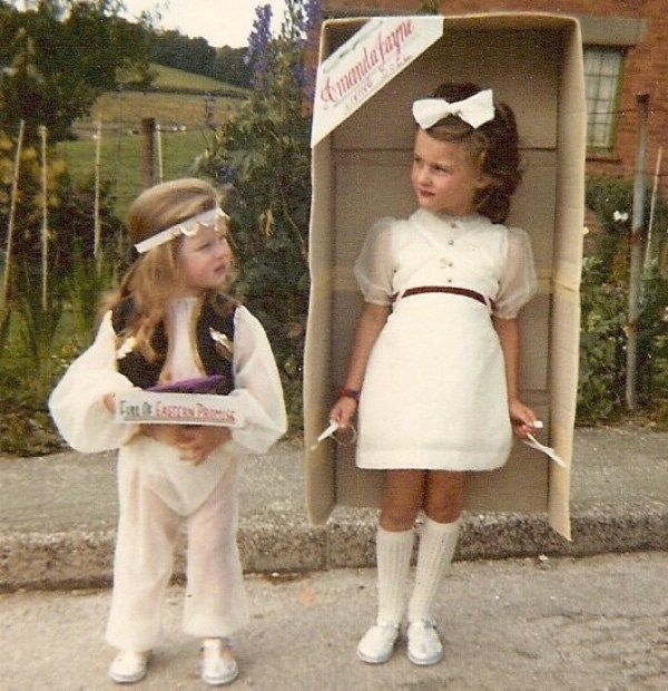 carnival costumes 1974 Chudleigh Devon