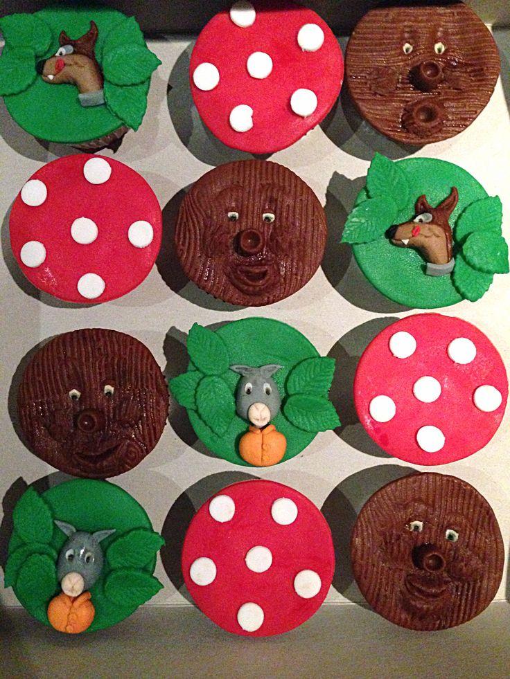 Sprookjesboom cupcakes