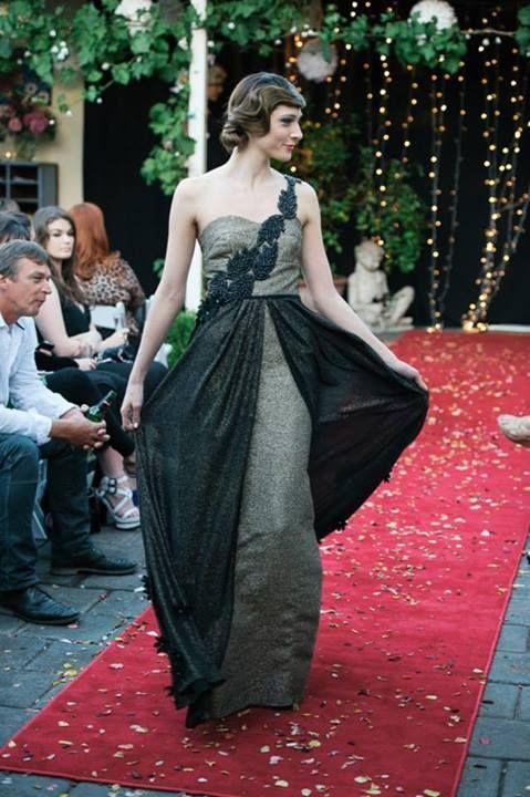 gatsby inspired waves for the lovely Greta Kate label