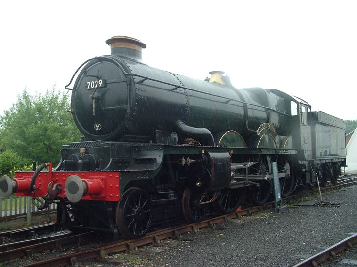 BR (W) 4073 'Castle' Class 7029 'Clun Castle'National Railway Museum, York. '1968 and All That'. (May 2008)