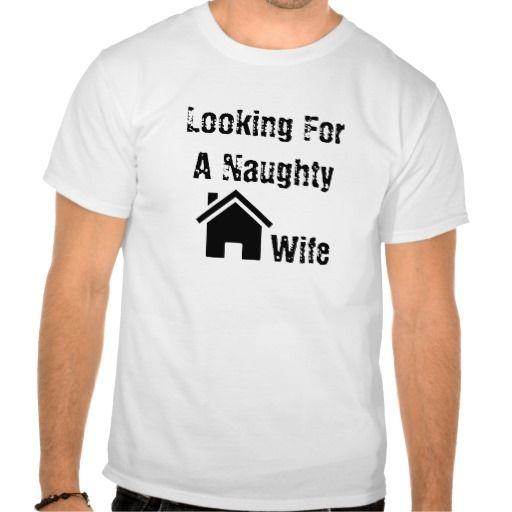 Black Naughty Housewife T-shirt