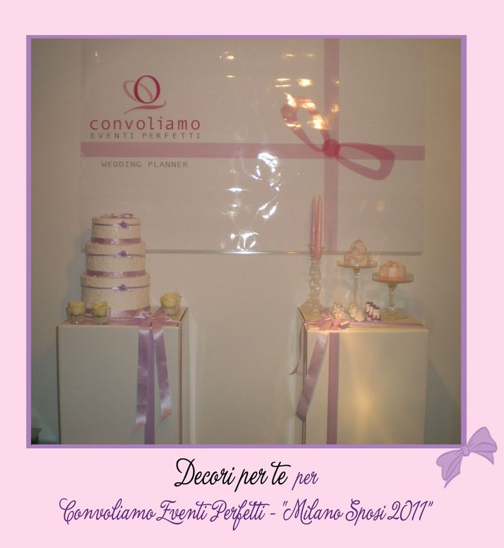"""Milano Sposi"" Fair wedding cake card box & mini wedding cake"