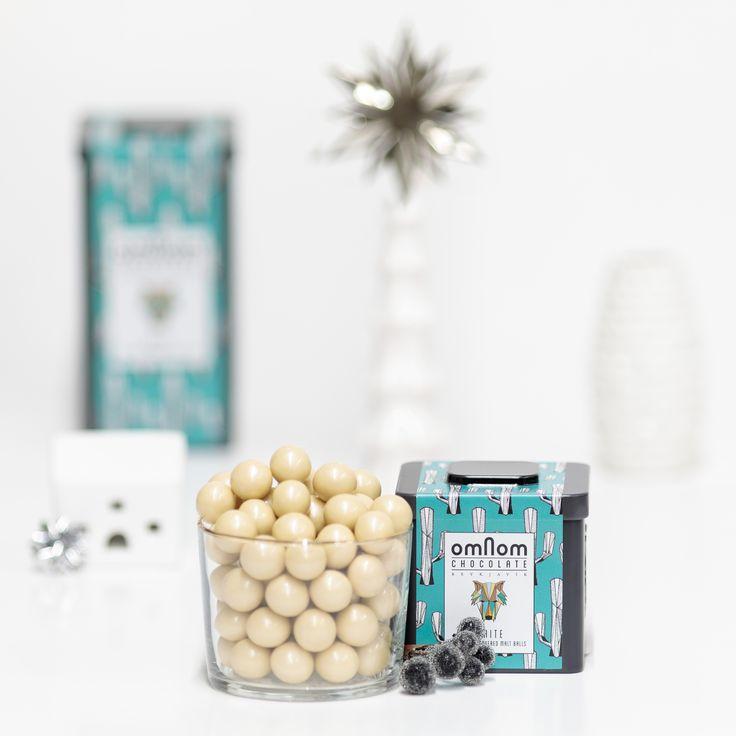 Omnom Chocolate 1st day of Advent: White Chocolate Covered Malt Balls