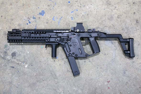 Air gun, Sabage, equipment, survival game, looking, fashion, clothes, KWA KRISS Vector, EOTech XPS3 type holo site