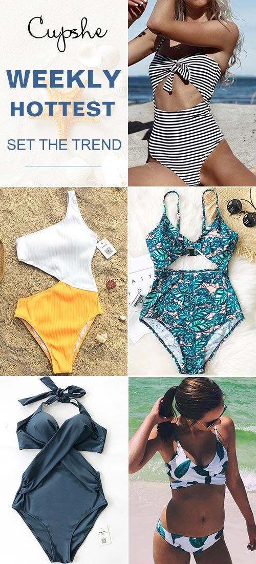 Calling all the trendsetters: no worrying about beachwear! Various weekly hottest bathing suits with better quality here for you. Let beauty and comfort be your closed swimming friends. Check them out!