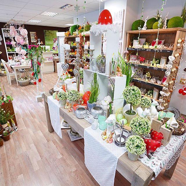 Die aktuelle Dekoration für das #Frühjahr in unserem Laden in #Birkenfeld (bei #Pforzheim).