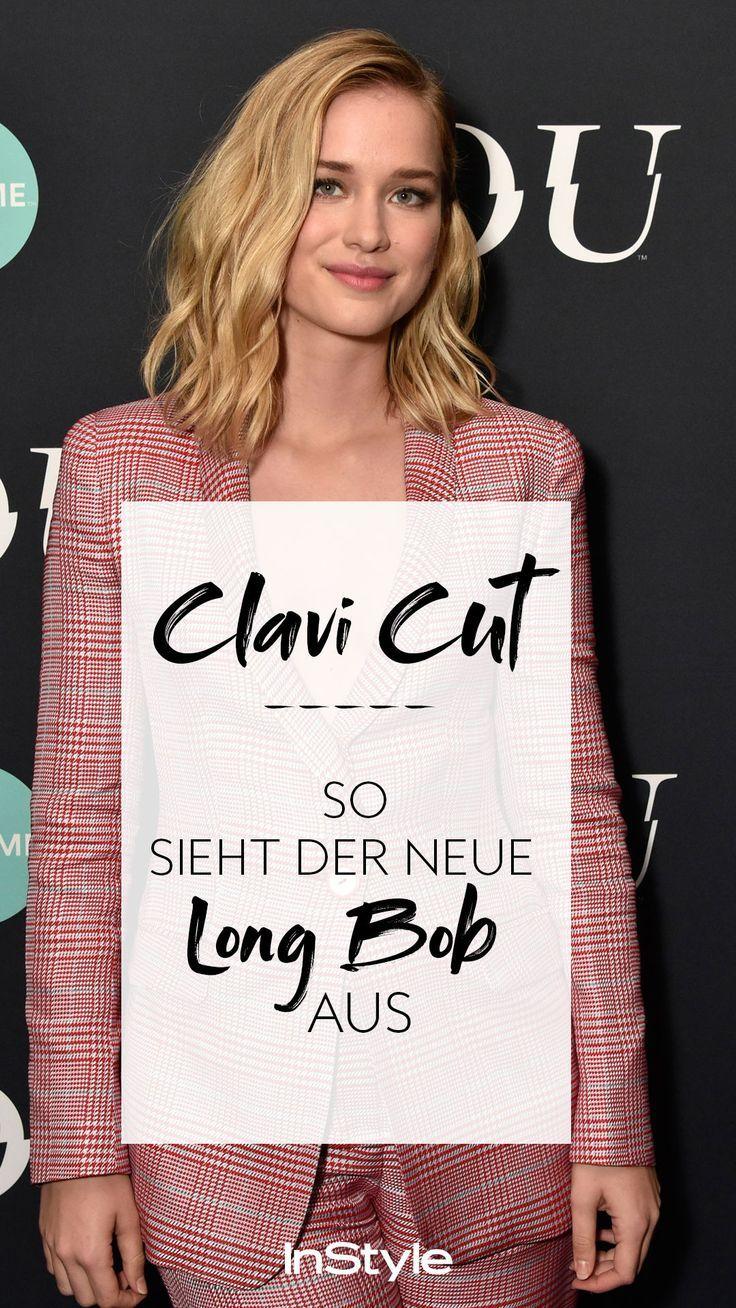 Trend Frisur Clavi Cut So Sieht Der Neue Long Bob 2019 Aus Haare