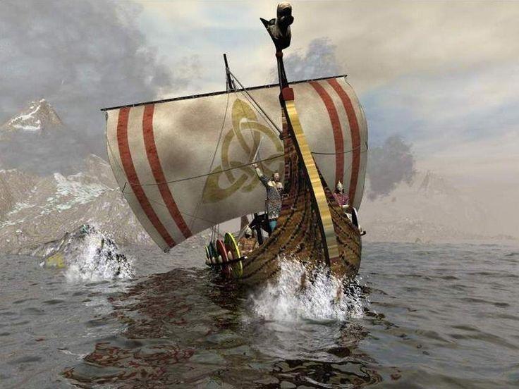 """Los #Vikingos atravesaban velozmente el mar asolando las costas desde sus """"drakkars"""" (llamadas así porque las proas y popas de sus naves estaban adornadas con cabezas de #dragón).  El nombre Vikingo significa """"hombres del norte"""", o también se dice que proviene de """"Vik in"""", que significa """"bahía adentro"""", refiriéndose así a sus desembarcos.  Siéntete como Vickie el Vikingo y recorre """"La Tierra de los Vikingos"""" a bordo de #CostaCruceros…"""