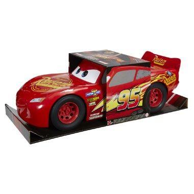 Disney Cars 3 Bliksem McQueen auto - 50 cm  Zo levensecht heb je Bliksem nog nooit gezien! Deze superstoere Disney Cars 3 Bliksem McQueen auto is maar liefst 50 cm groot.  EUR 34.99  Meer informatie