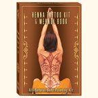 Earth Henna Mini Body Painting Kit and Mehndi Book Set