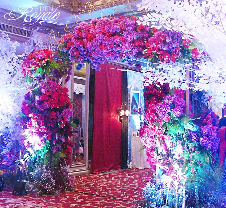 7 best wedding gate decoration images on pinterest gate decoration the wedding of adi sylvani palace decorated by eden decoration junglespirit Image collections
