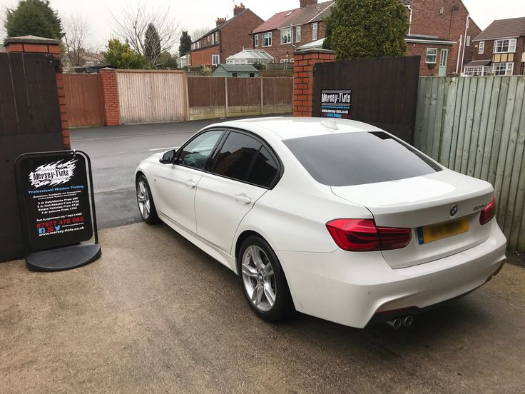 2015 BMW 320d MSport in this morning for 5% Carbon Limo tints to the rears. #gettingreadyforsummer2018 #merseytints #suntek #suntekcarbon #bmw #bmw320dmsport #bmw320d #bmwenthusiast #stickitwherethesunshines