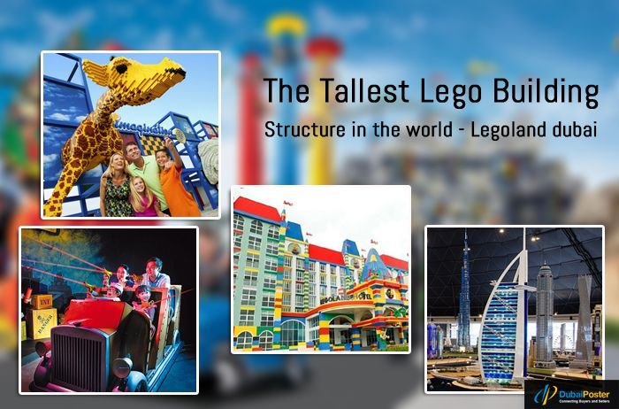Get The experience of 65 thrilling rides and 4-D cinemas and other fun activities for you and your kids in Dubai at LEGO City of Dubai. It is shocking when will you know that it makes the world record for the tallest Lego building structure. Get the more information at
