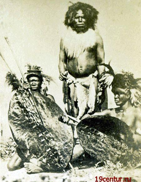 Сомалийское племя. 19 век.