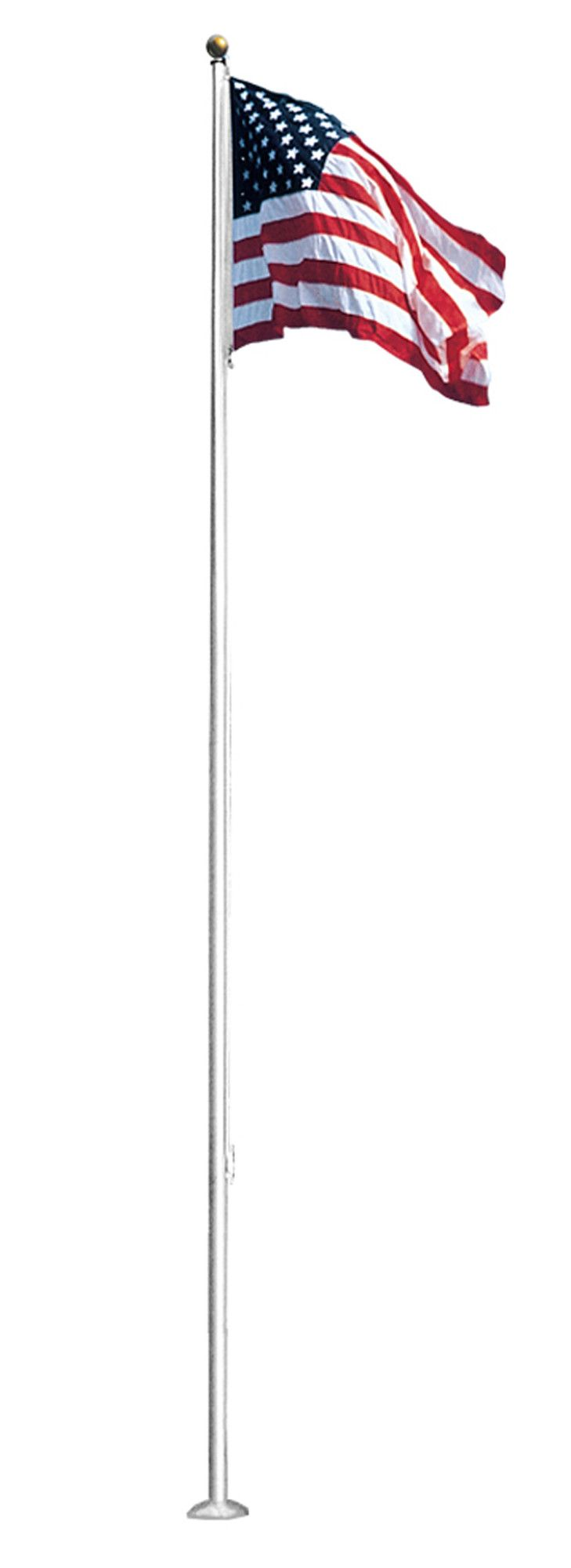 10 Foot Aluminum Flag Pole