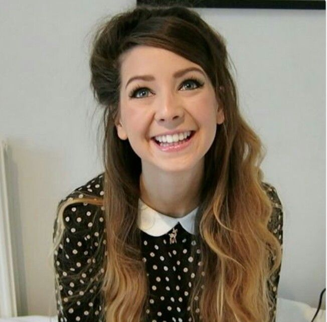 Zoella, she has the best youtube channel ever!!!!!!