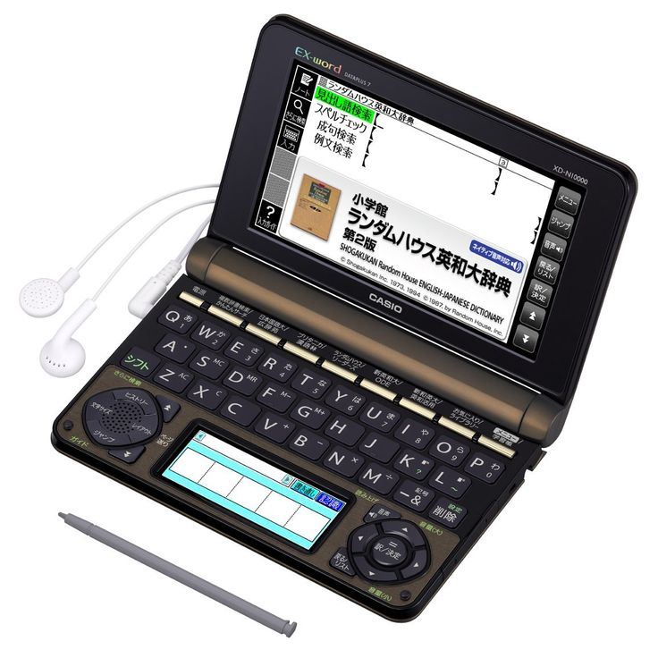 """Casio Ex-word Electronic Dictionary Xd-n10000   for Professional (Japan Import). The """"professional"""" specifications who is most suitable for a study, translation, specialized learning. 2013 release. Approximately 100,000 English word native pronunciation."""