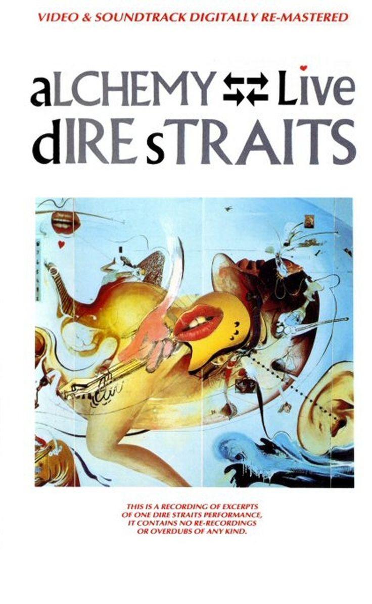 Dire Straits: Alchemy Live (DVD Cover)