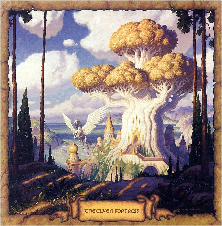Calendar Art Sci : Best tim hildebrandt quot calendarios realms of wonder y