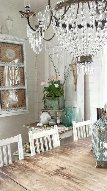 Eclectic Farmhouse Dining Room