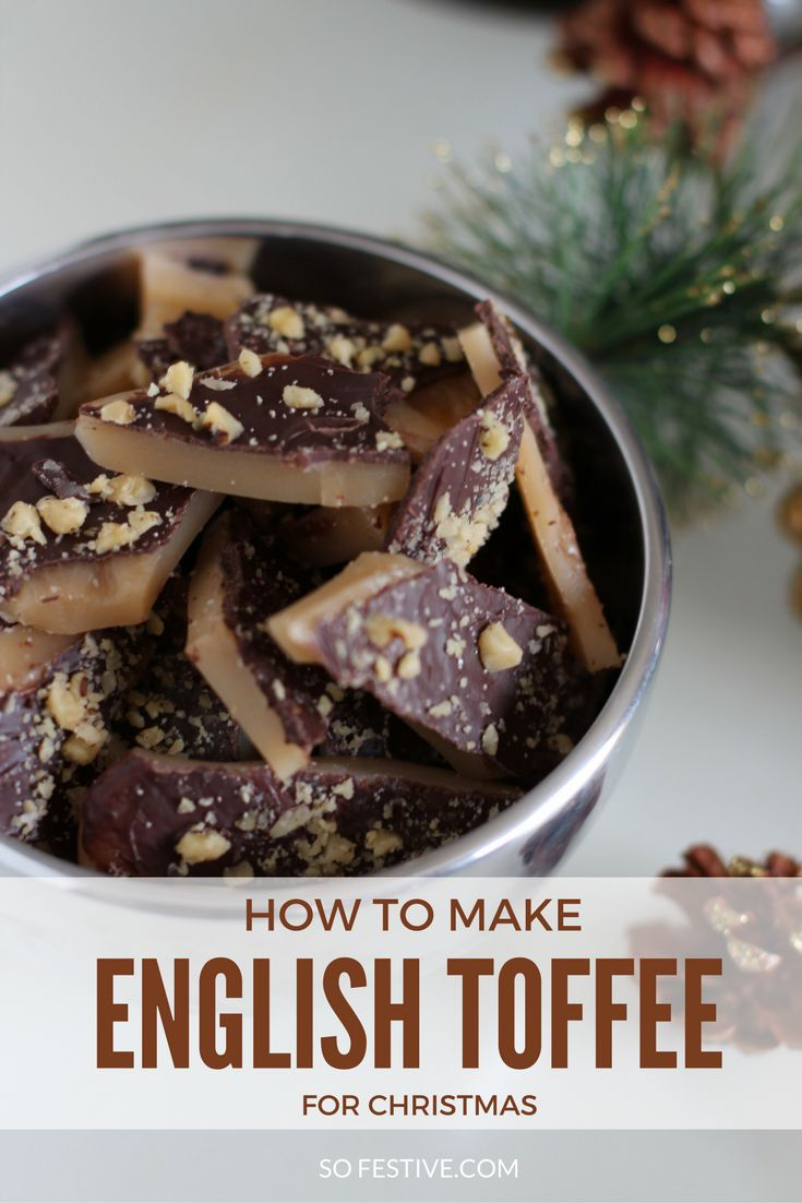 How to make English Toffee the easy way. If you're looking for a simple homemade Christmas Candy recipe, this is it! So yummy.