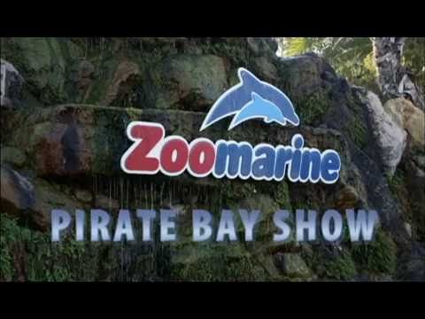 Zoomarine Pirate Bay Show - YouTube