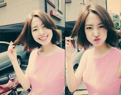 Jin Se Yeon, love love her short hair ^^