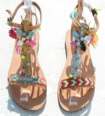Boho Sandals/Leather Gladiator Sandals/Womens gladiator/Sandals/Glitter sandals/Boho/Indie/Hippie/ Ancient Greek Sandals/Pocahontas by EATHINI on Etsy https://www.etsy.com/listing/252631777/boho-sandalsleather-gladiator